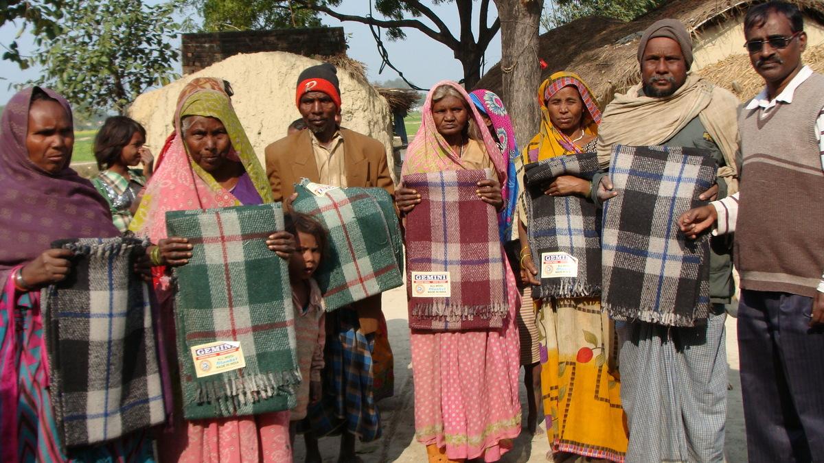 Winterhilfe für Indien