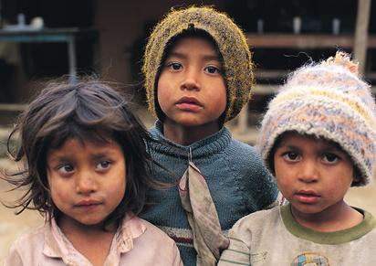 Hilfsaktion in Nepal