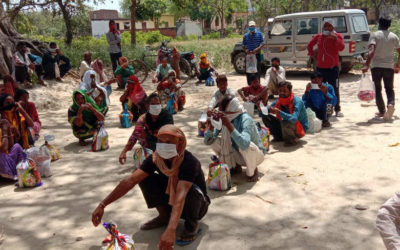Corona Hilfe in Indien